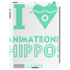 I Heart Animatronic Hippos Tablet