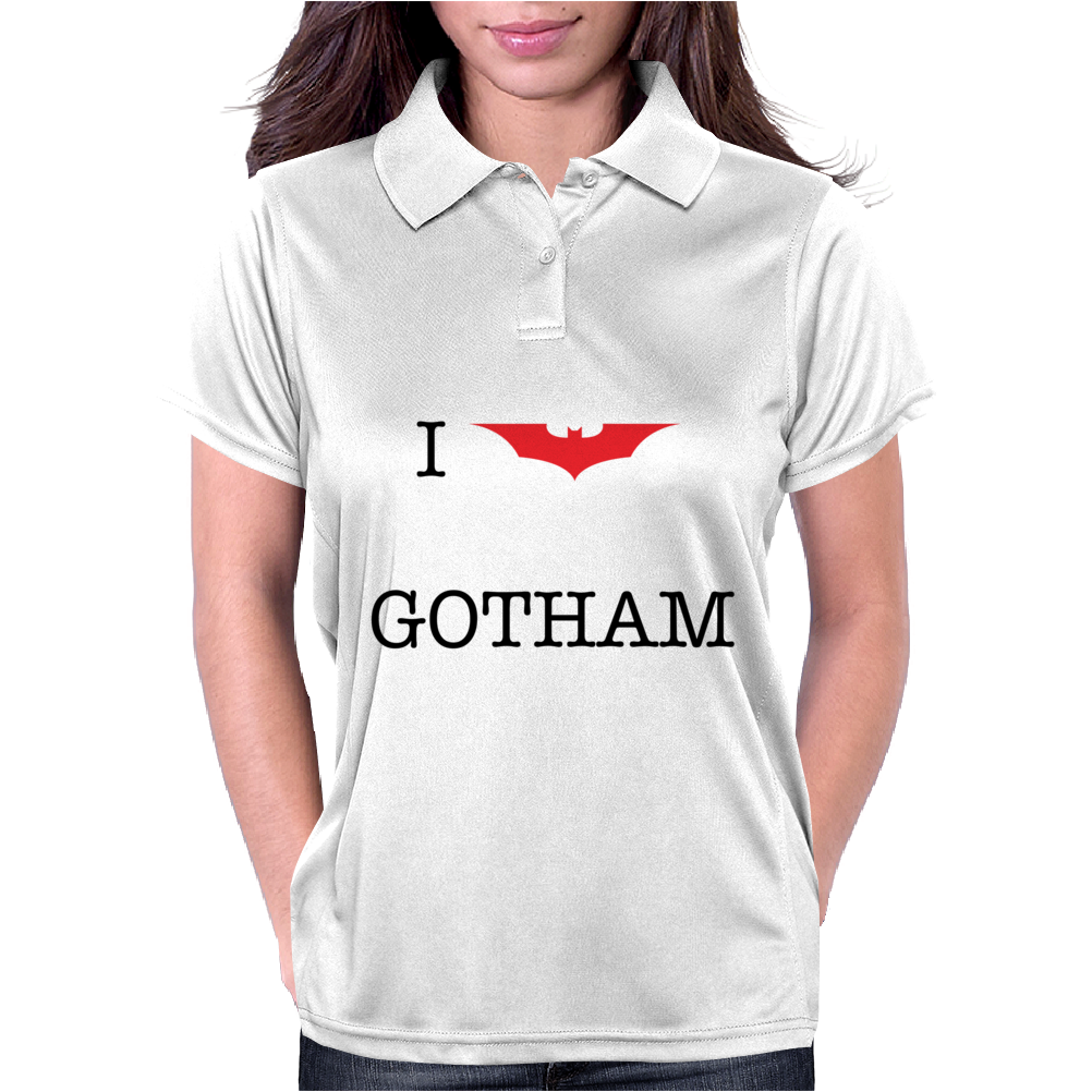 I Heart Gotham Womens Polo