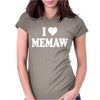 I HEART MEMAW Womens Fitted T-Shirt