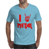 I Heart Metal Mens T-Shirt