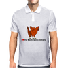 I Heart my Backyard Chickens Mens Polo