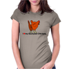 I Heart my Backyard Chickens Womens Fitted T-Shirt