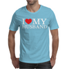 I Heart My Husband Mens T-Shirt