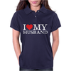 I Heart My Husband Womens Polo