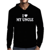 I HEART MY Uncle Mens Hoodie