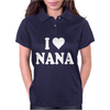 I HEART NANA Womens Polo