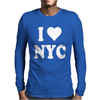 I HEART NYC Mens Long Sleeve T-Shirt