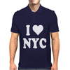 I HEART NYC Mens Polo