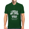I Hold My Rod Mens Polo