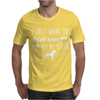I Just Want To Drink Wine And Pet My Boxer Mens T-Shirt