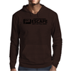 I Keep Pressing Escape But I'm Still Here Mens Hoodie