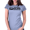 I Keep Pressing Escape But I'm Still Here Womens Fitted T-Shirt