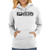 I Keep Pressing Escape But I'm Still Here Womens Hoodie