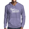 I Kick It With Ninjas Mens Hoodie
