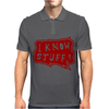 I know stuff - red Mens Polo