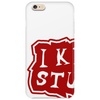 I know stuff - red Phone Case