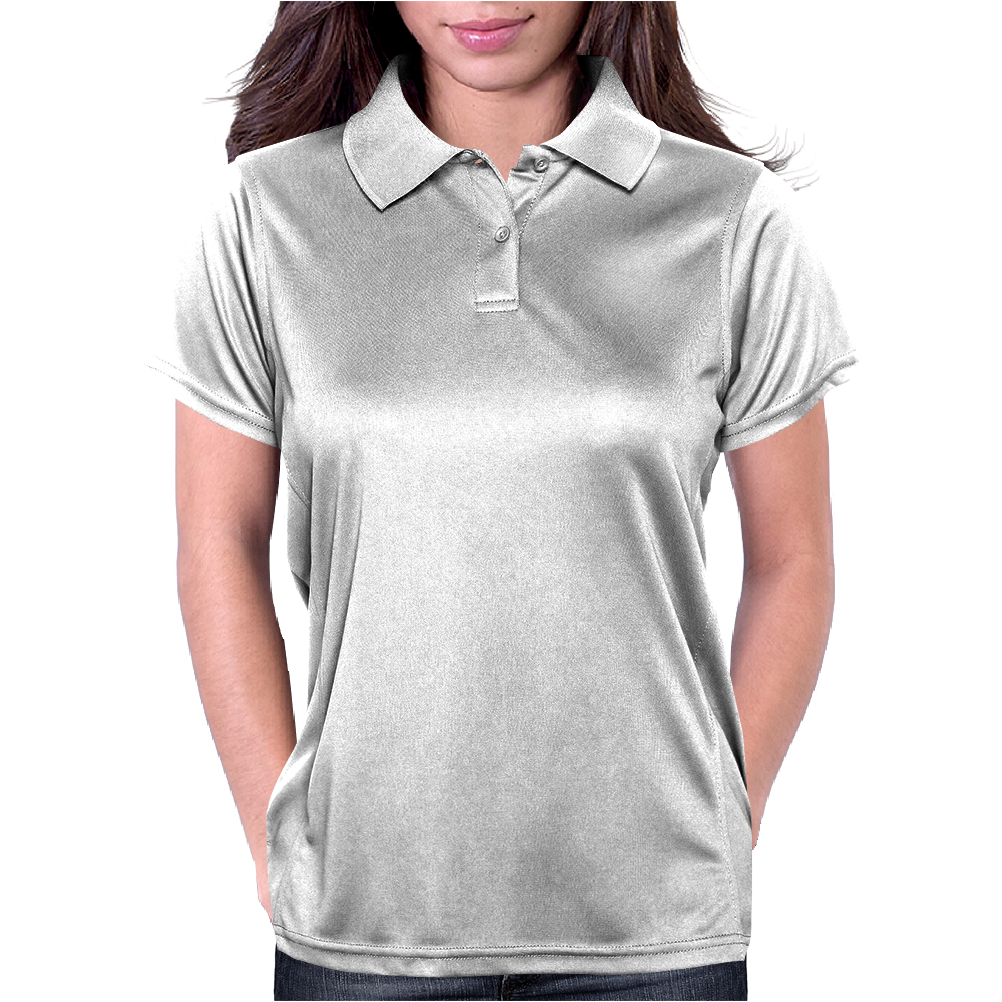 I know stuff - wht Womens Polo