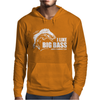 I Like Big Bass Mens Hoodie