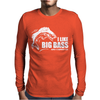 I Like Big Bass Mens Long Sleeve T-Shirt
