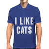 I LIKE CATS Mens Polo