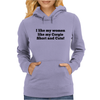 I Like my Women like my Corgie, Short and cute. Womens Hoodie