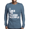 I Like To Flash People Mens Long Sleeve T-Shirt