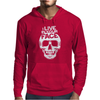 I Live In Your Face Skull Mens Hoodie
