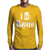 I Love Bayern Mens Long Sleeve T-Shirt