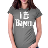 I Love Bayern Womens Fitted T-Shirt