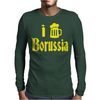 I Love Borussia Mens Long Sleeve T-Shirt