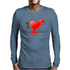 I love Boys and girls Mens Long Sleeve T-Shirt