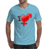 I love Boys and girls Mens T-Shirt