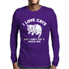 I Love Cats Can't Eat A Whole One Mens Long Sleeve T-Shirt