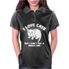 I Love Cats Can't Eat A Whole One Womens Polo