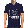 I LOve Cheese Mens Polo
