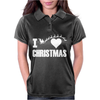 I Love Christmas Womens Polo