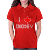 I Love Dickey Womens Polo