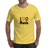 I Love House Music Mens T-Shirt