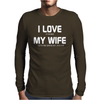 I LOVE IT WHEN MY WIFE LETS ME DRIVE MY JAGUAR Mens Long Sleeve T-Shirt