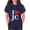 I LOVE JESUS CHRIST Womens Polo
