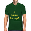 I love Lamp' Anchorman Mens Polo