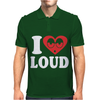 I Love Loud Mens Polo
