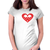 I Love Loud Womens Fitted T-Shirt