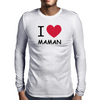 i love maman Mens Long Sleeve T-Shirt