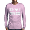 I Love Math Mens Long Sleeve T-Shirt