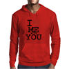 i love me with you by wam Mens Hoodie