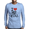 i love me with you by wam Mens Long Sleeve T-Shirt