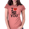 i love me with you by wam Womens Fitted T-Shirt
