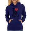 i love me with you by wam Womens Hoodie