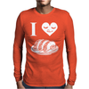 I love Mexican Tacos con cilantro y limon Mens Long Sleeve T-Shirt